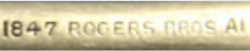 1847 Rogers Bros AL