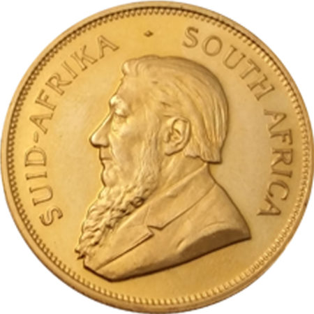 South Africa Krugerrand gold coin back