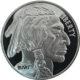 Buffalo silver coin front