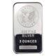 5 oz silver bar front