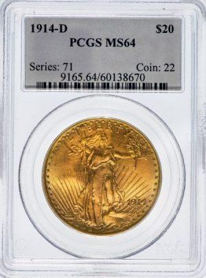 PCGS gold