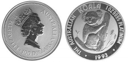 australia koala platinum