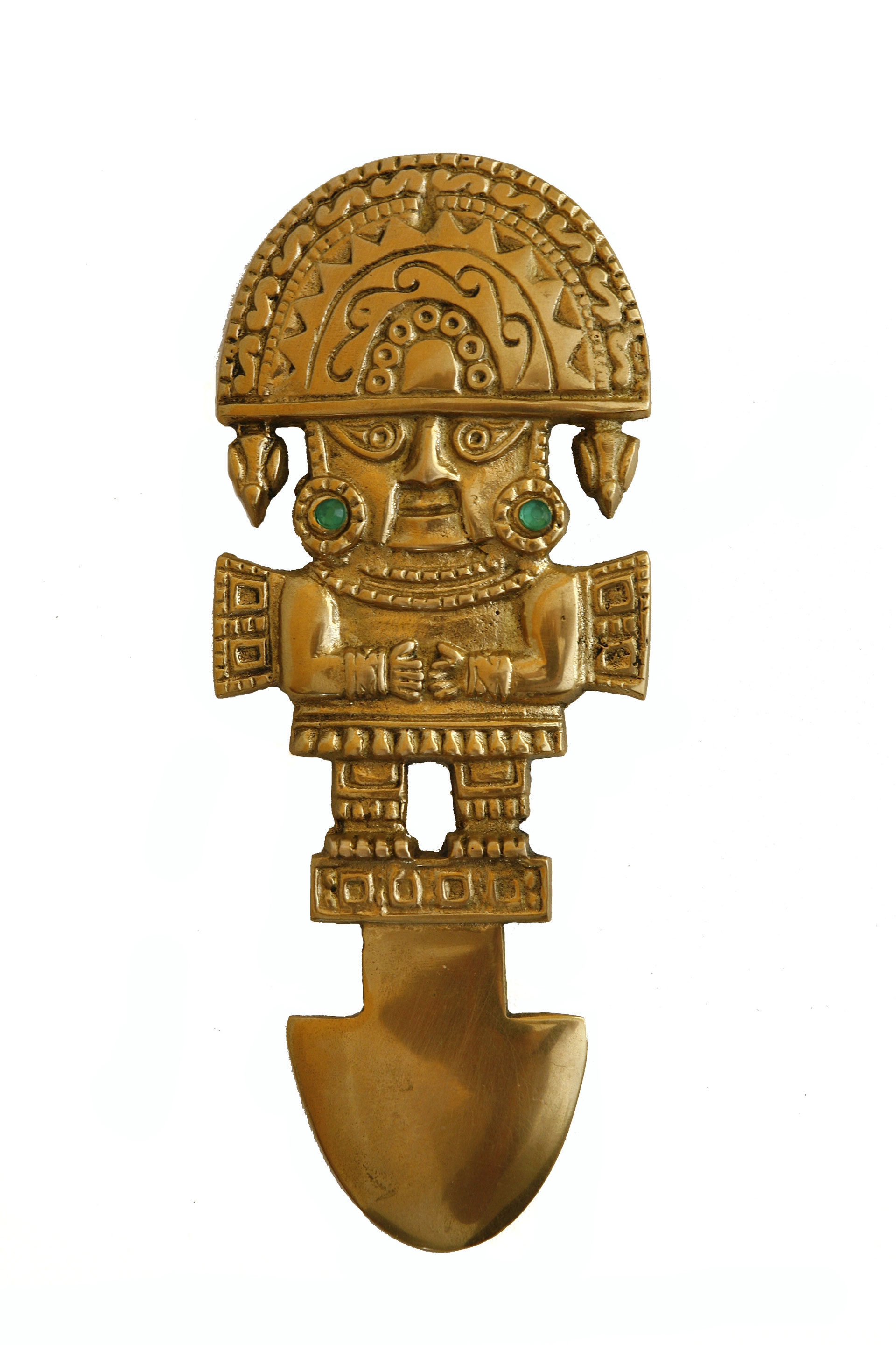 South American gold figure