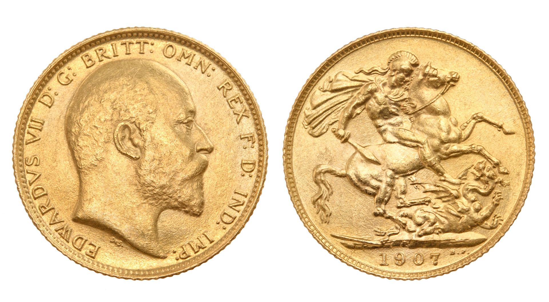gold britt coins