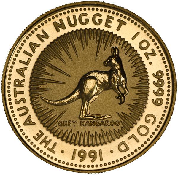 Australian Gold Nugget or Kangaroo - California Gold and