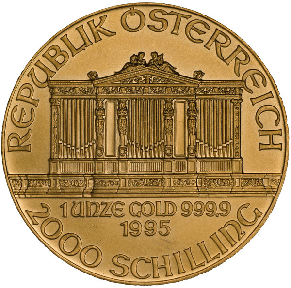 austria philharmonic gold coin