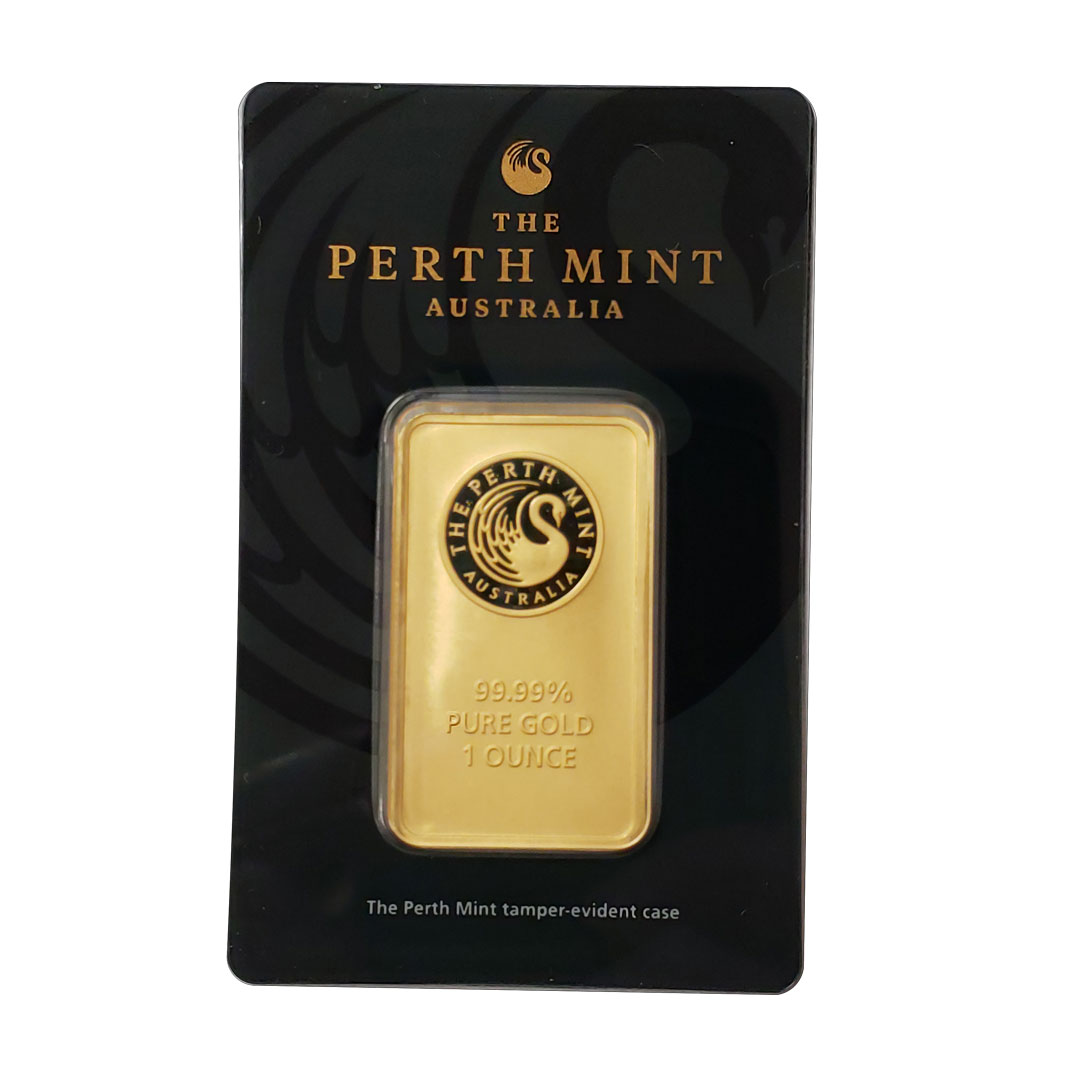 Perth Mint in black package