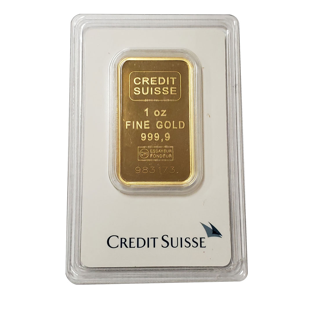 credit suisse gold bar