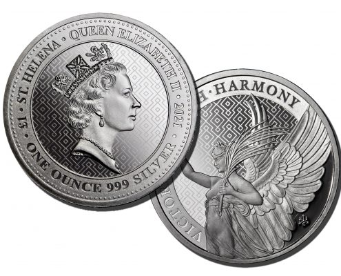 2021 1 oz St. Helena Victory Coin