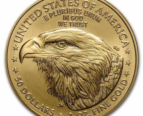 2021 American Gold Eagle Type 2